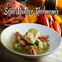 Sopa Marisco en Thermomix